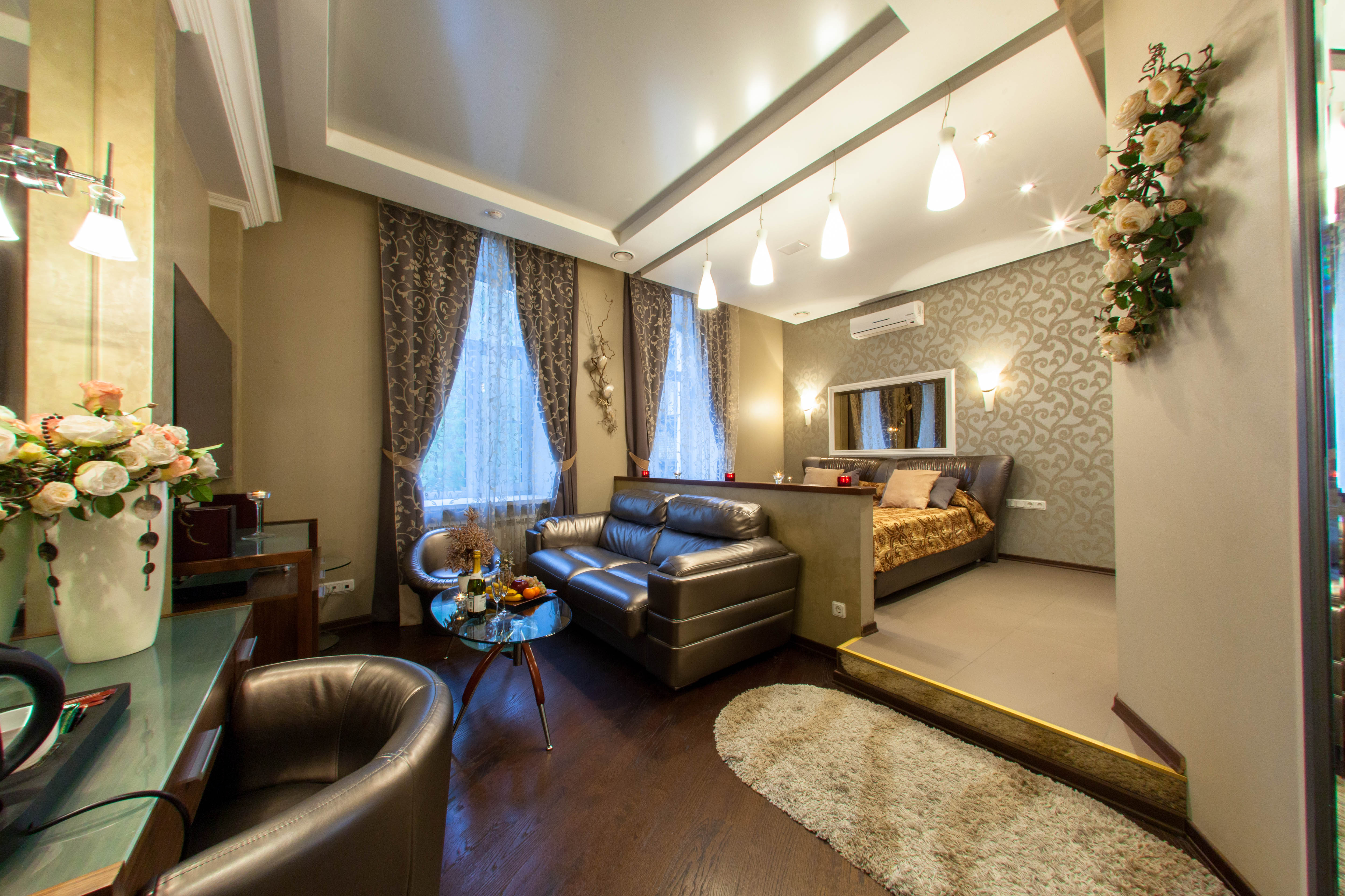 Жемчужная комната в отеле Премиум