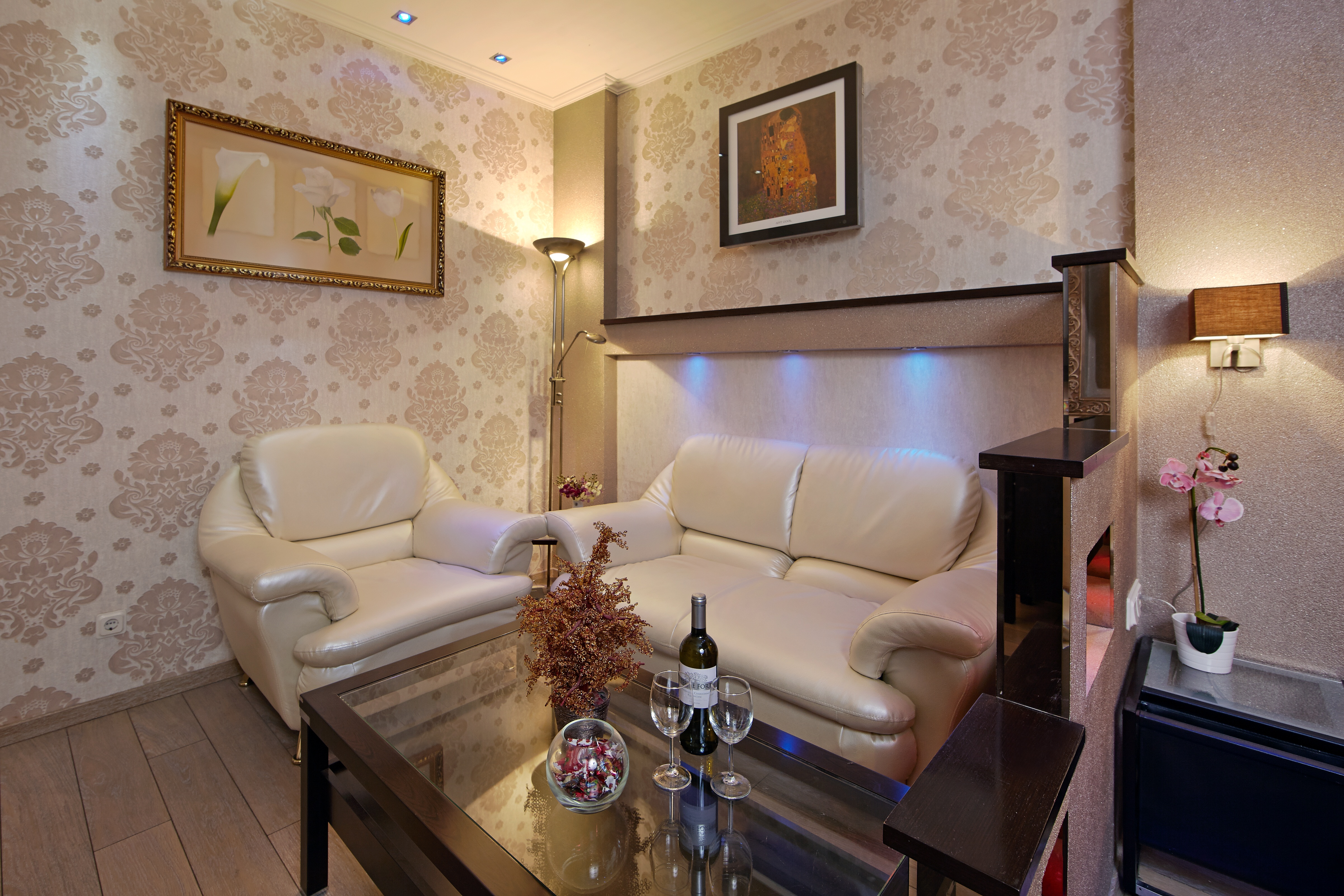 Агатовая комната в отеле Премиум